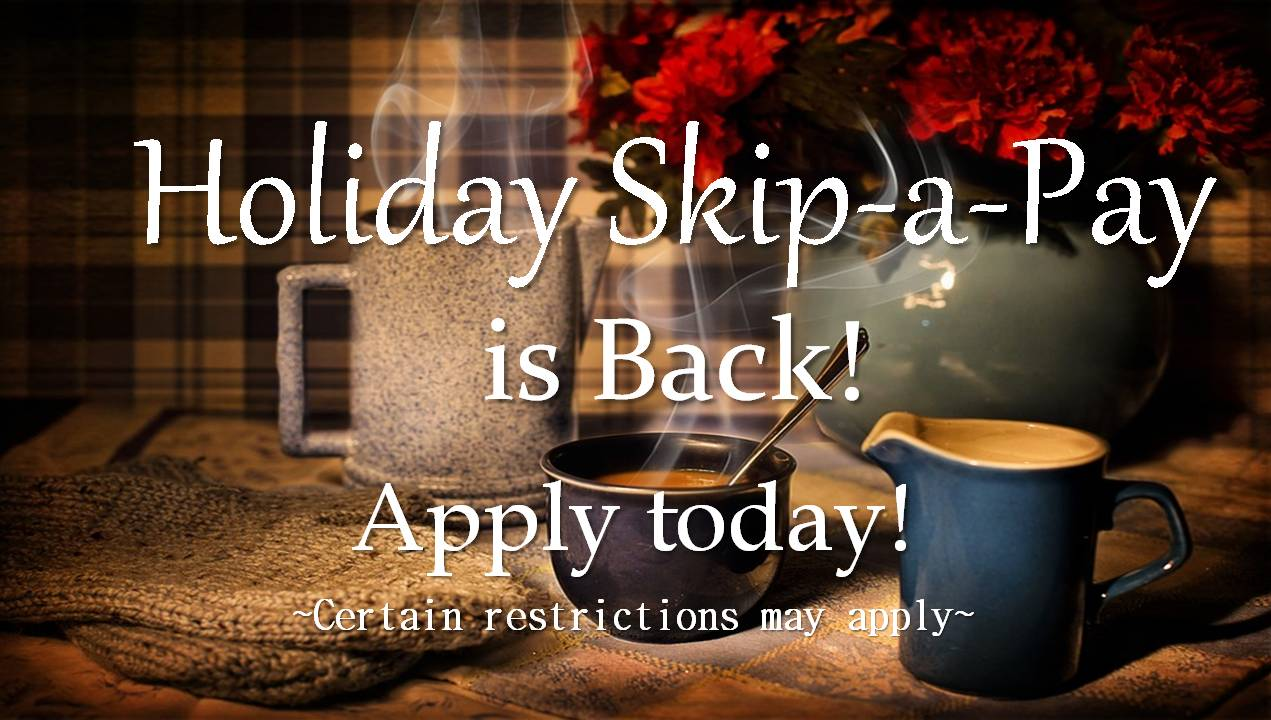 HOLIDAY SKIP PAY